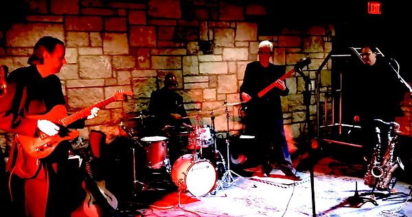 Jay EuDaly, Kevin Johnson, Blake Hughes & Phil Brenner @ Oread Hotel, Lawrence, KS - March 9, 2018