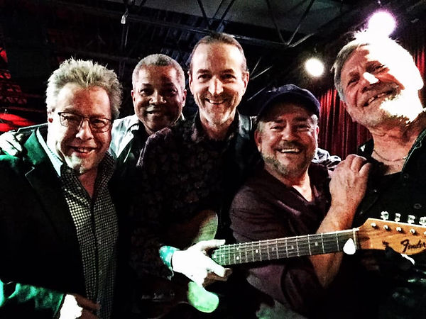 Joe Miquelon, Oscar Polk, Jay EuDaly, Tommy Sutherland & Cliff Eveland at the Levee - March 1, 2019