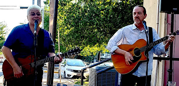 Mark Valentine & Jay EuDaly at Tribe Street Kitchen - July 8, 2018