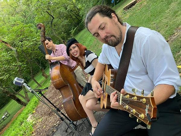 Alex Mallett, Jesica DeLong & Clayton DeLong @ Private Party, Lawrence, KS - 9/4/21