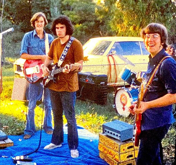 Jay EuDaly, Jack Dougherty, Bill King & Brian Scott - Fall, 1971