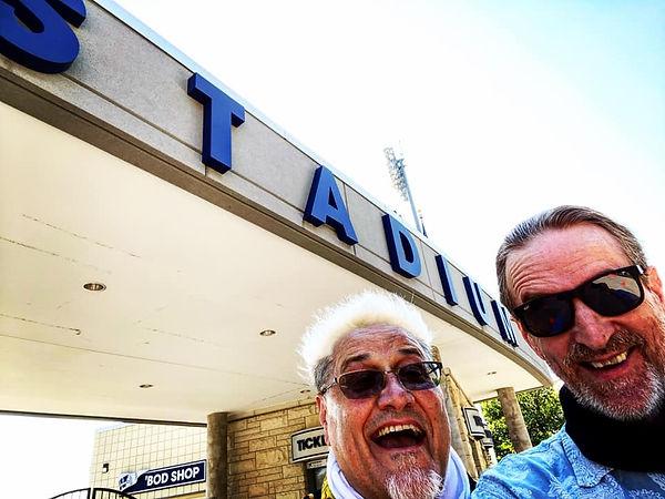 Jay EuDaly & Mark Valentine at Washburn University, Topeka, KS - 10/7/2020