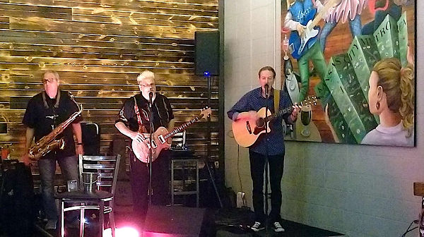 Phil Brenner, Mark Valentine & Jay EuDaly @ Apex Aleworks Brewery and Taproom - 10/10/2020