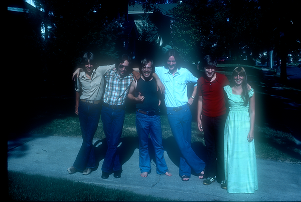 Kevin EuDaly, Brian Scott, Bill King, Jay EuDaly, Craig ?, Chris Hoffman: Recording session June 25, 1976
