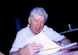 John Elliott checking out Vertical Truth: Chordal Mechanisms for the Guitar