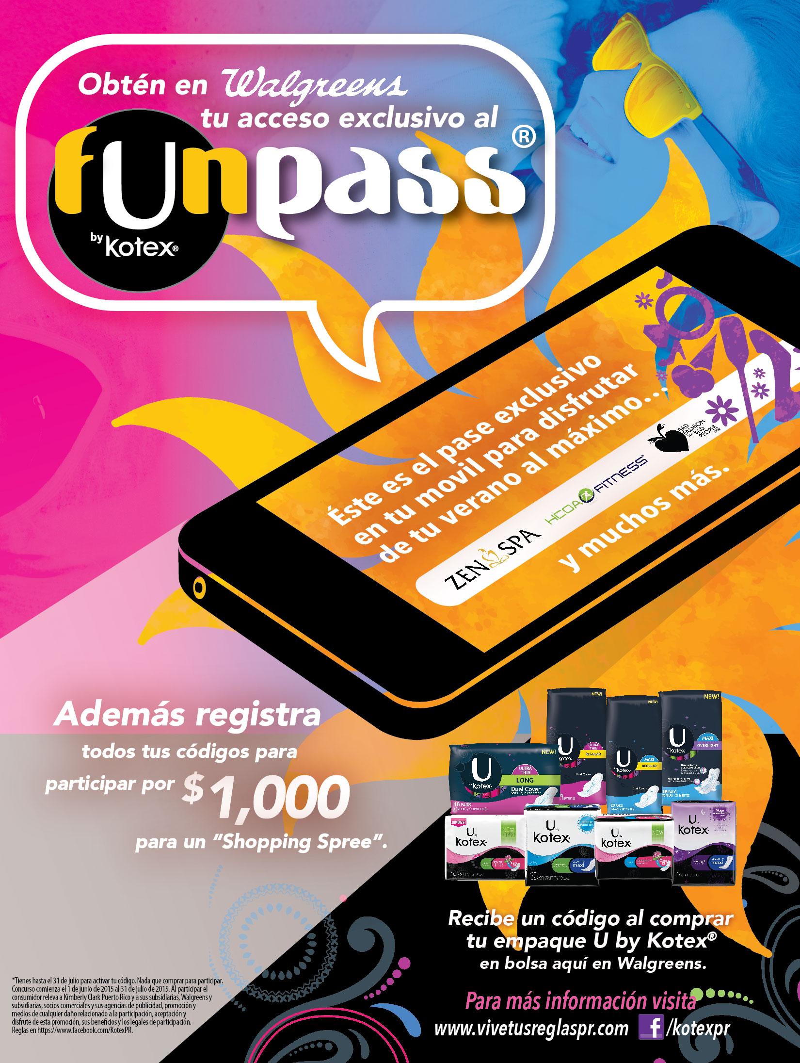 U ByKotex Funpass App