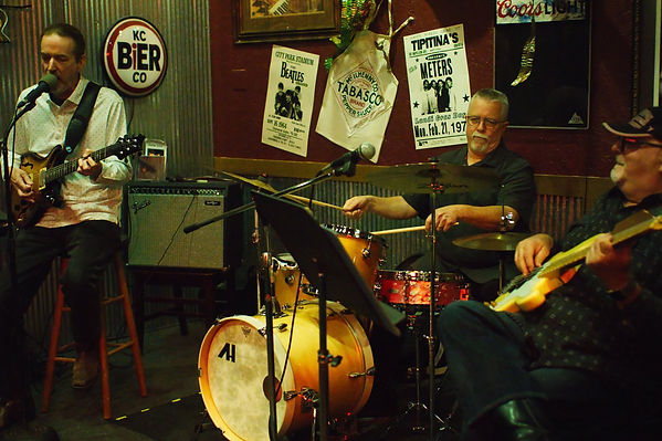 Jay EuDaly, Andy Hambleton and Rick Yord at the Jazz Kitchen in Independence, MO - October 12, 2019