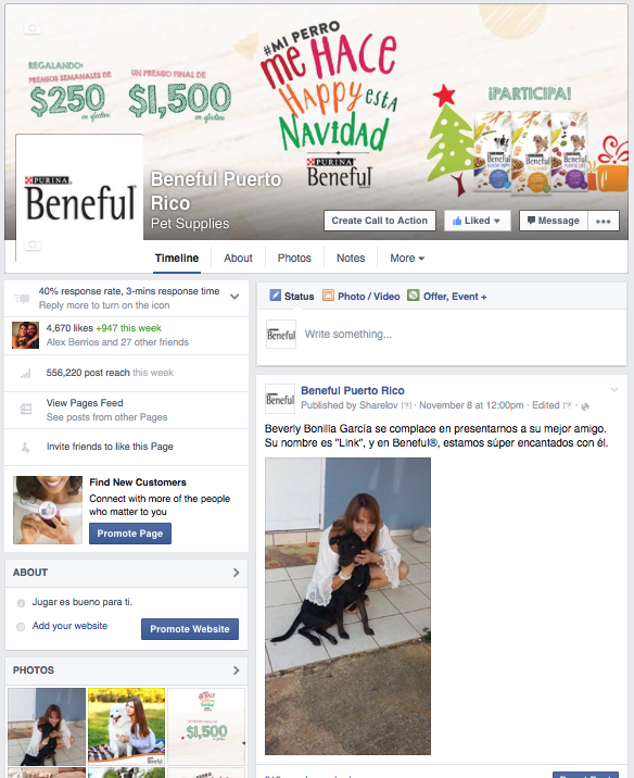 Beneful Fan Page