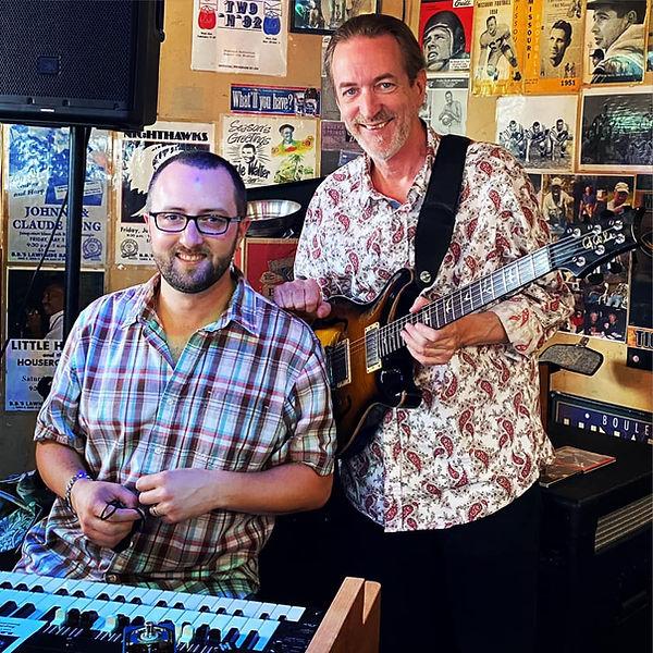 Chris Hazelton and Jay EuDaly at BBs - 8/29/21