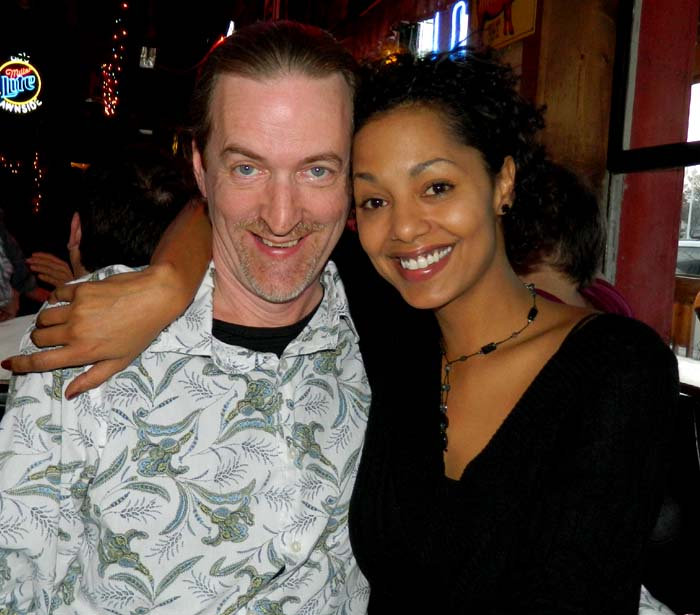 Jay EuDaly and singer Dionne Jeroue