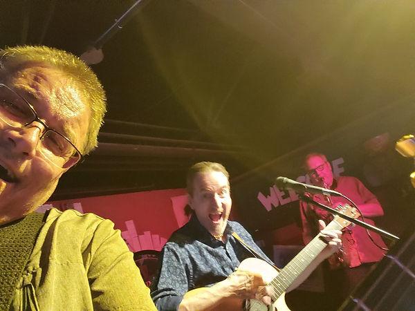 Mark Valentine, Jay EuDaly & Phil Brenner at Jazz Legends - July 12, 2019