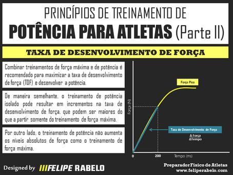Princípios de Treinamento de Potência para Atletas - Parte 2