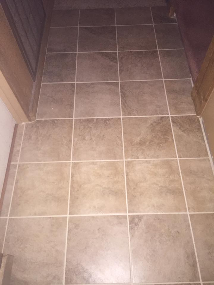 Bath Room Tile Floor