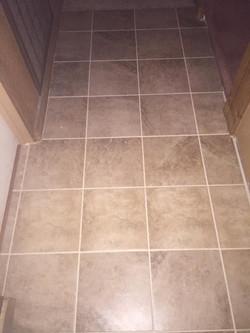 Bath Room Tile Floor