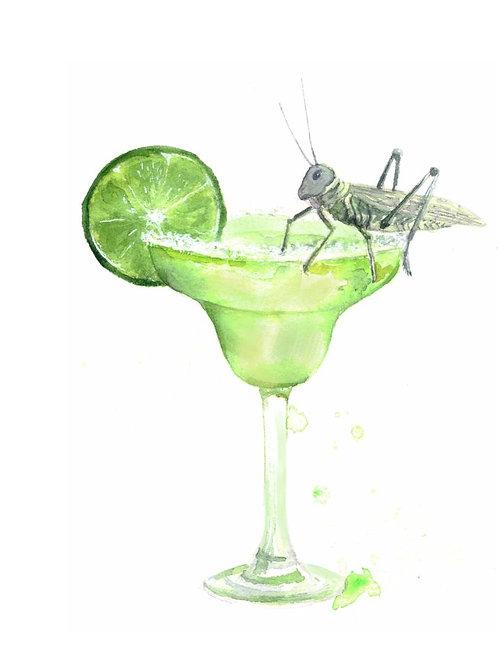 """""""Margarita cocktail"""" art print"""