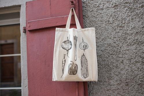 """Tote Bag """"Veggies"""""""