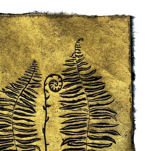 Wild ferns print