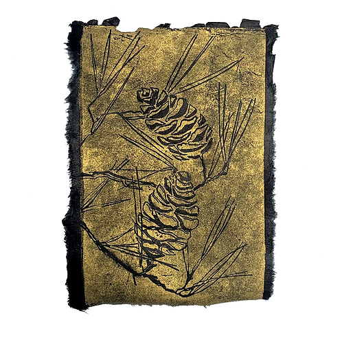Pine Cones print