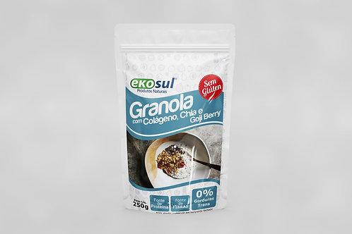 Granola com Colágeno Chia e Goji Berry 250g
