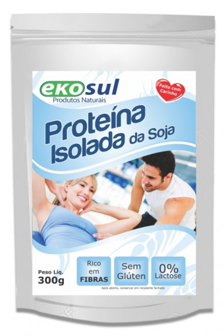 Proteína Isolada de Soja 300g