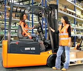 Eclipse Recruitment Ladies that Forklift