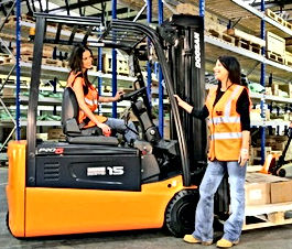 Eclipse Recruitment Ladies that Forklift