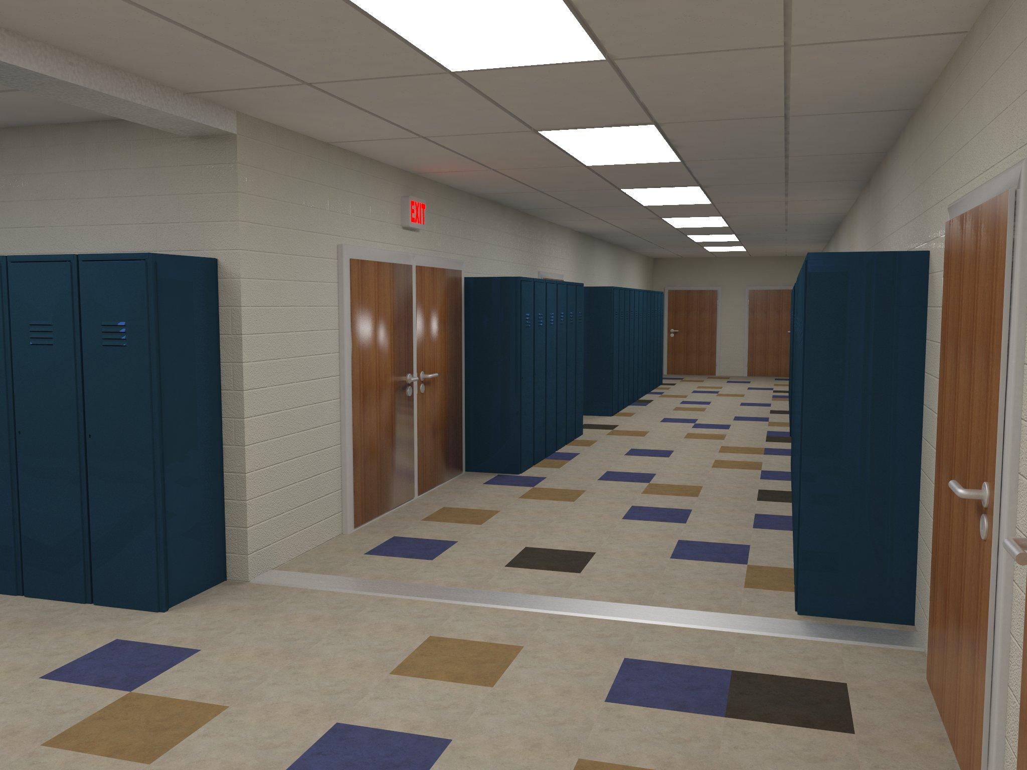 Immanual Lutheran Hallway