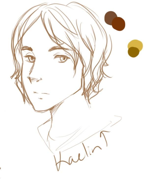 Ally Amador - Kaelin Sketch