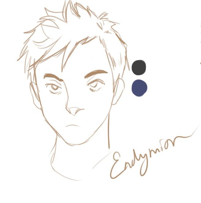 Ally Amador -- Endymion Sketch
