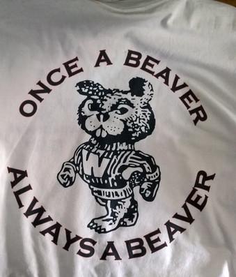 Digital Print Once a Beaver T-Shirt