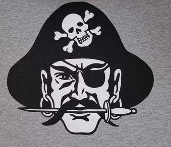 Screen Printed Pirate T-Shirt