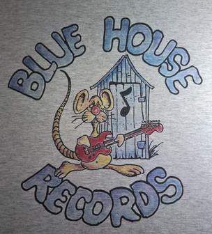 Digital Print Blue House T-Shirt