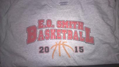 Digital Print E.O. Basketball T-Shirt