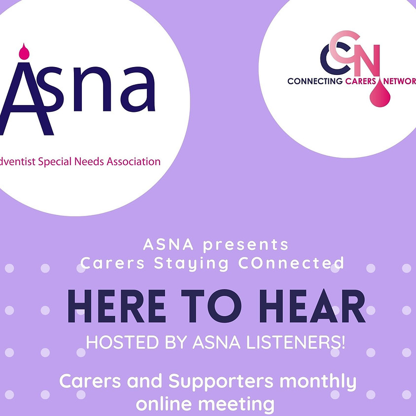 Hear to Hear: Peer support group