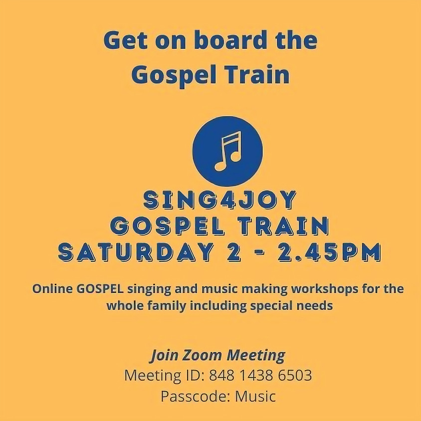 The Gospel train: Music workshops in partnership with S4J (7)