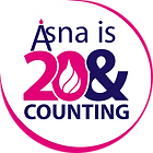 asna is 20 and counting full logo.png