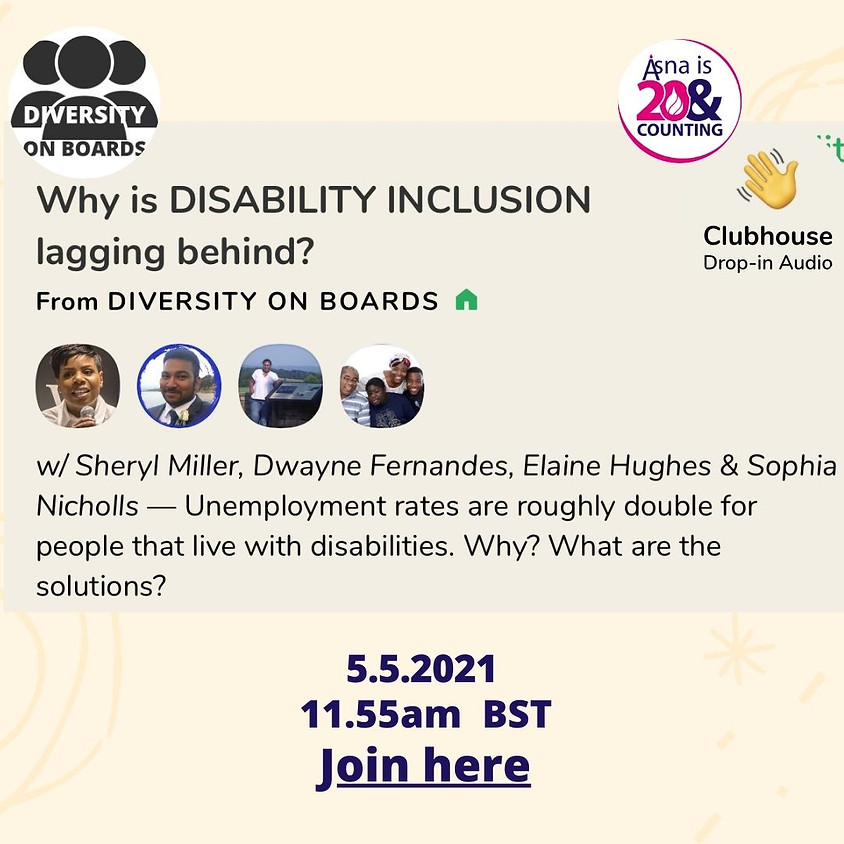 Discussion Forum: Why is disability Inclusion lagging behind