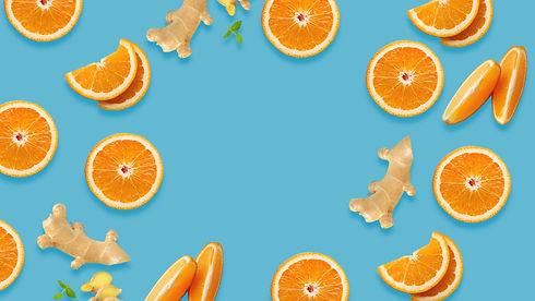 Orange and ginger vegan jelly