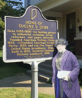 Mother Jones at The Eugene V. Debs Museum