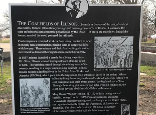 Mother Jones Historical Marker & Indoor Exhibit, Illinois Humanities grant
