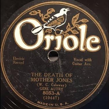 Gene Autry, The Death of Mother Jones