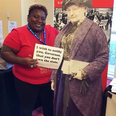 Stand With Mother Jones Exhibit