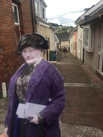 At Cork, near where she was born in Cork