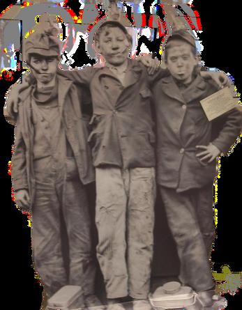 Interactive miners boys exhibit