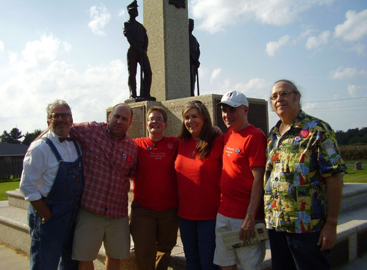 United Mind Workers: SIU-E faculty celebrate their new union at Mother Jones Monument