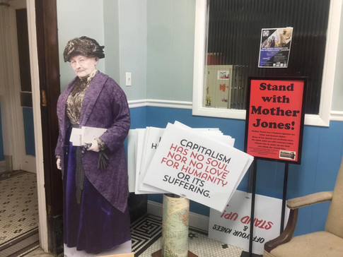 Stand With Mother Jones