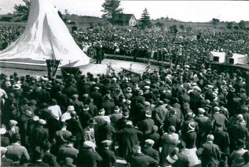 1936 unveiling