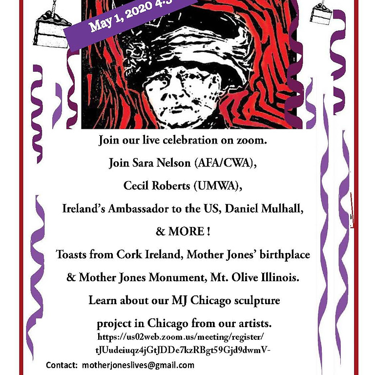 Mother Jones We Shall Rise May Day Party
