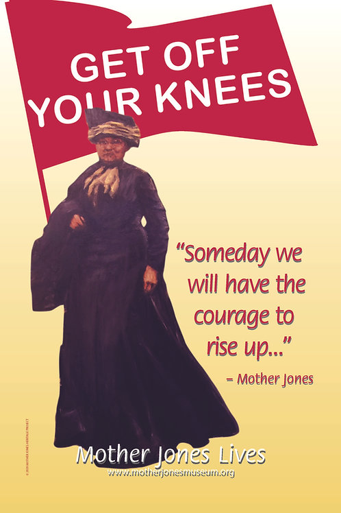 Poster - Get Off Your Knees Rise UP