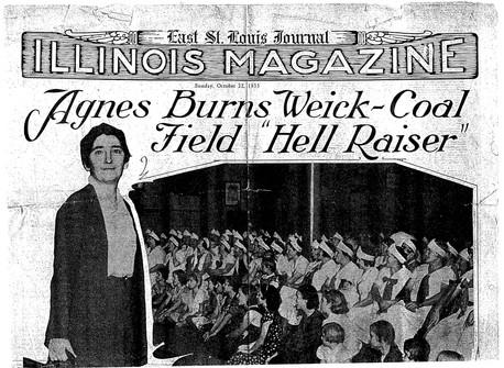 Agnes Burns Wieck, new Mother Jones